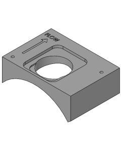 Drop-In Sensor Weld-On Flange - Steel
