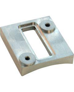 Slot Style Sensor Weld-On Flange - Aluminum