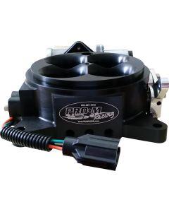 Black Anodized Billet Aluminum 1000 CFM Throttle Body with TPS